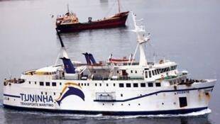 Navio Vicente, naufragado ao largo da ilha do Fogo, em 2015, em Cabo Verde, fazendo 15 mortos;