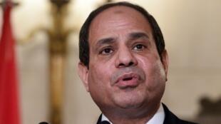 Ảnh tư liệu: Tổng thống Ai Cập Abdel Fattah al Sissi họp báo nhân chuyến thăm Hy Lạp, Athens, ngày 08/12/2015