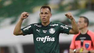 PHOTO Palmeiras-Santos Breno Lopes - 30 janvier 2021