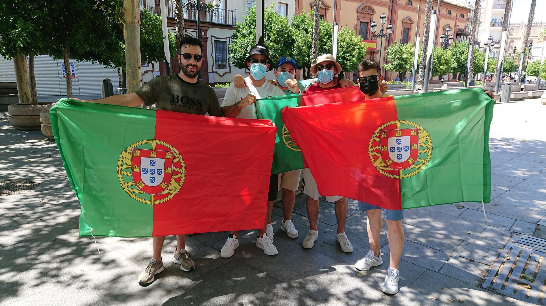 Adeptos - Portugal - Portugueses - Sevilha - Futebol - Euro 2020 - UEFA