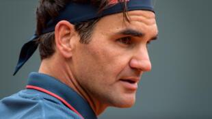 Federer no ha sido visto en un torneo Grand Slam desde su semifinal perdida en el Abierto de Australia ante Novak Djokovic wn 2020