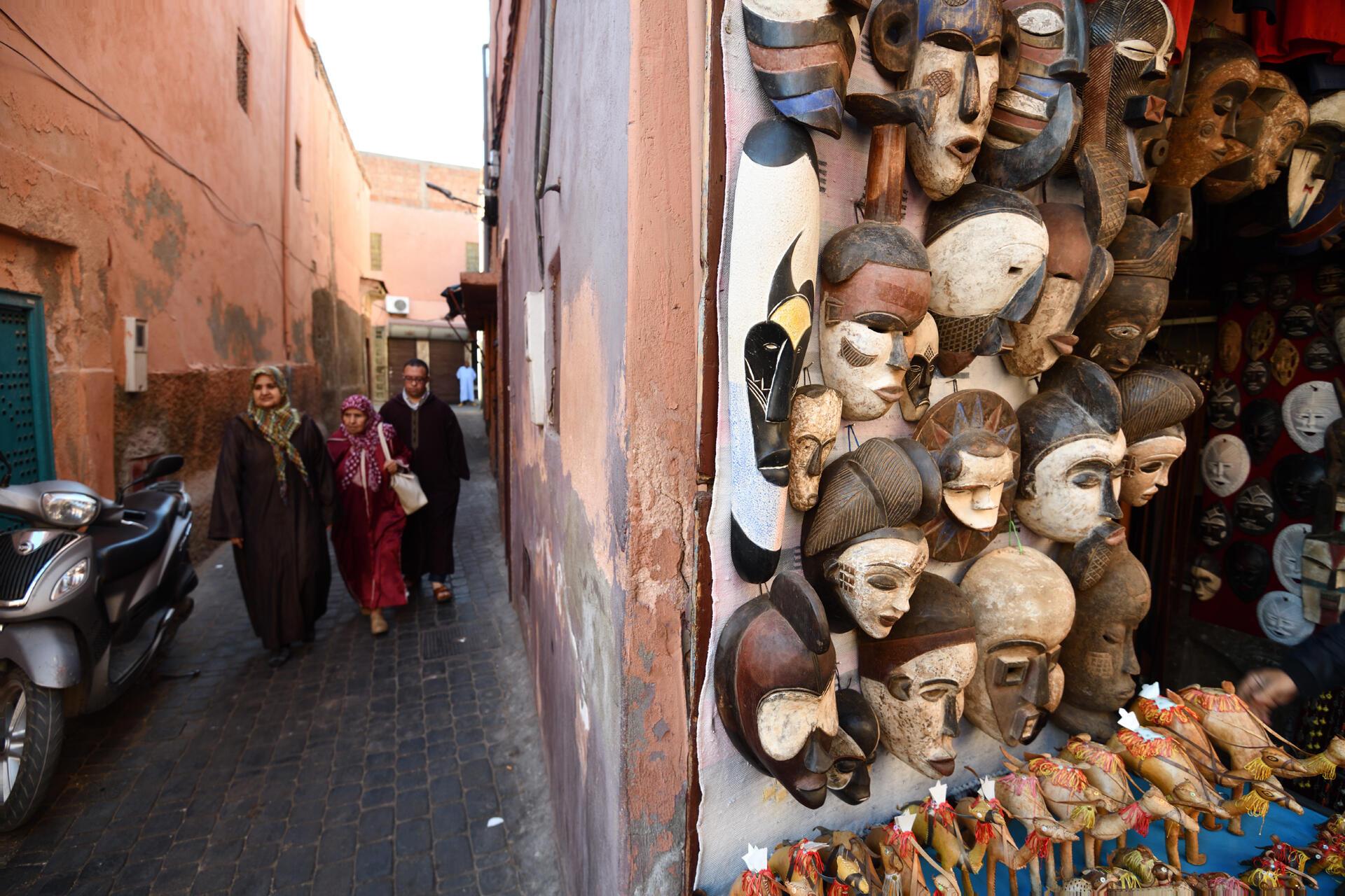 La kasbah de Marrakech, au Maroc (image d'illustration).