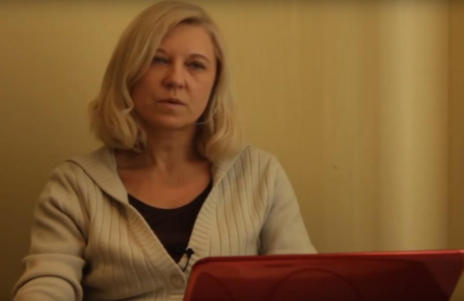 Белорусская правозащитница Татьяна Ревяко