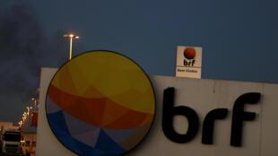 Foto de arquivo da fachada da empresa BRF em Lucas do Rio Verde (MT).