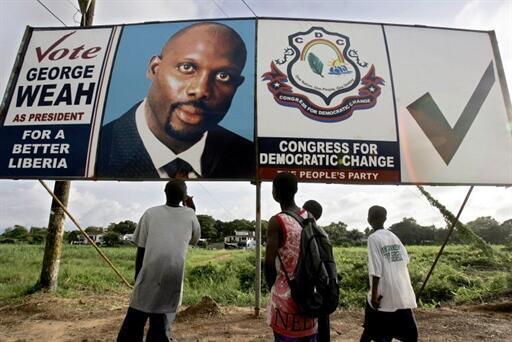 En 2005, Georges Weah était déjà le rival d'Ellen Johnson-Sirleaf à la présidentielle libérienne.