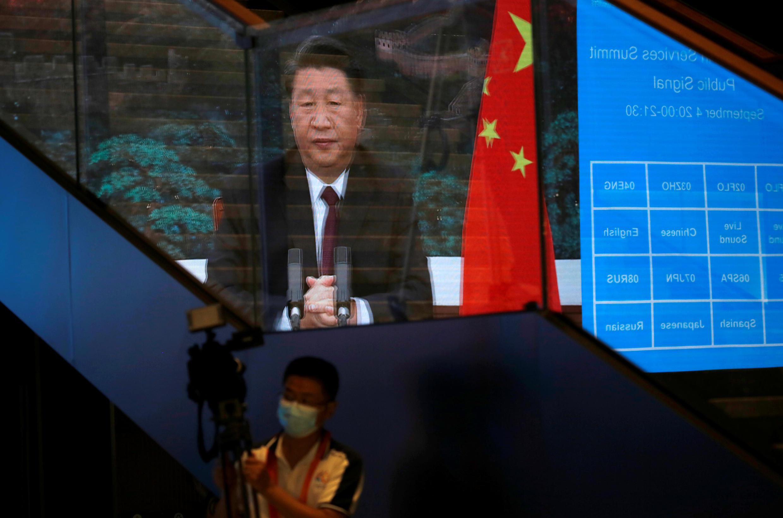 Chủ tịch Trung Quốc Tập Cận Bình. Ảnh 04/09/2020 tại Bắc Kinh.
