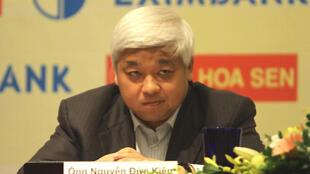 Nguyễn Đức Kiên, một trong những sáng lập viên của ACB - Ngân hàng Thương mại Cổ phần Á châu (DR)