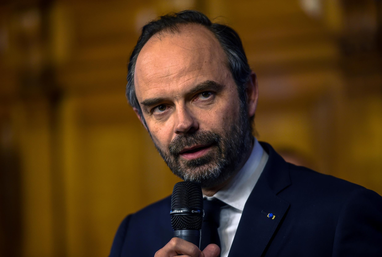O premiê francês, Édouard Philippe, em 22 de fevereiro de 2018.