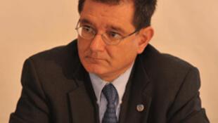 El fiscal del Tribunal Supremo de España Carlos Castresana, ex comisionado de la Comisión Internacional de Naciones Unidas contra la impunidad en Guatemala (CICIG).