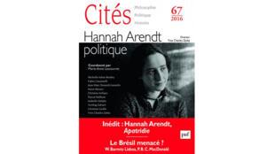 Le numéro 67 de la revue Cités.