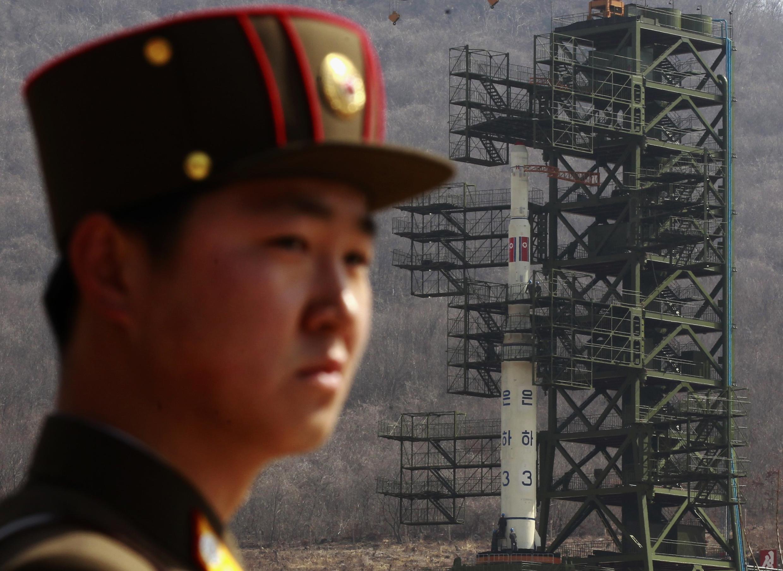 朝鮮導彈發射場