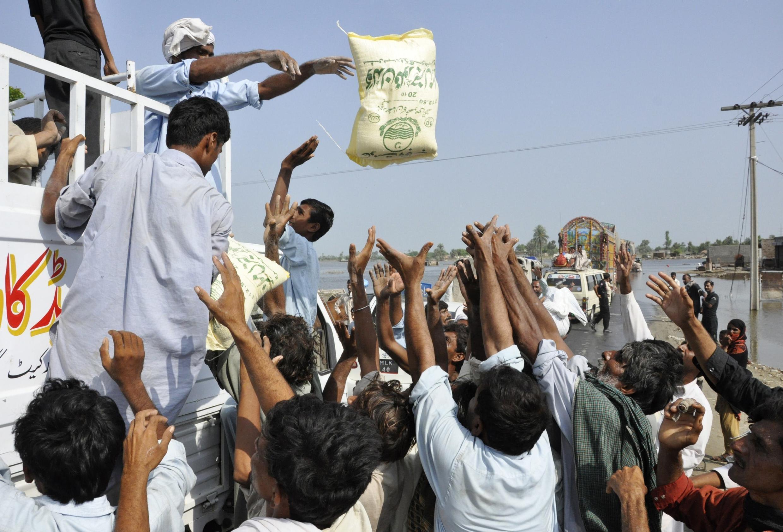 Ajuda humanitária chega à Província do Punjab