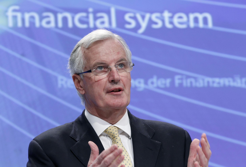 លោកមីស្ហ៊ែល បារនីញេ (Michel Barnier) ស្នងការអឺរ៉ុបទទួលបន្ទុកផ្នែកហិរញ្ញវត្ថុ