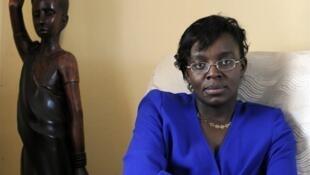 L'opposante Victoire Ingabire.