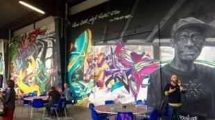 «L'Aérosol», le nouveau temple du graff et du street art à Paris.