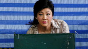 泰國前總理英拉投票中