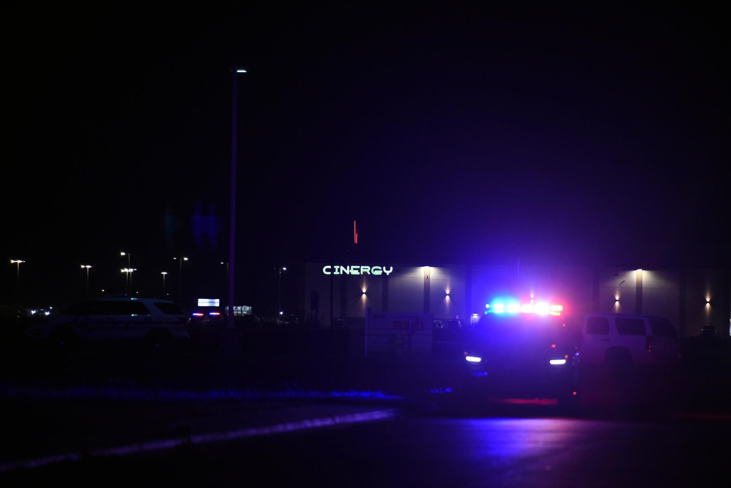 Police ended the gunamn's rampage in a shoot-out near a cinema in Odessa, Texas.