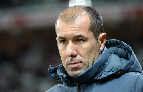 O treinador do Mónaco, Leonardo Jardim