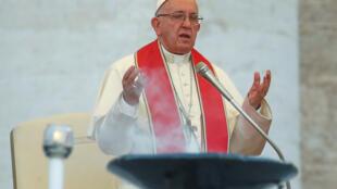El papa Francisco, foto archivo 31 de julio de 2018.