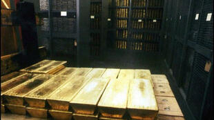 Des lingots d'or, Banque nationale suisse, Zurich.