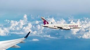 卡塔爾航空班機(資料圖片)