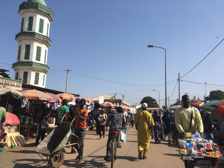Le marché de Serrekunda à Banjul, Gambie (photo d'illustration).