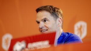 Netherland's coach Frank de Boer