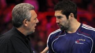 Claude Onesta et Nikola Karabatic seront toujours au rendez-vous des prochains matches de l'équipe de France.