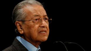 马来西亚前总理马哈蒂尔档案照