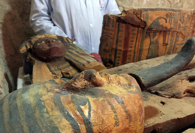 Un archéologue égyptien révèle le contenu de la tombe d'Userhat.