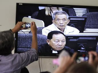 Канг Кек Иеу, по кличке «Дач» во время вынесения приговора 03/02/2012
