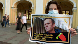 Navalny's supporters says he was poisoned by a cup of tea at a Siberian airport
