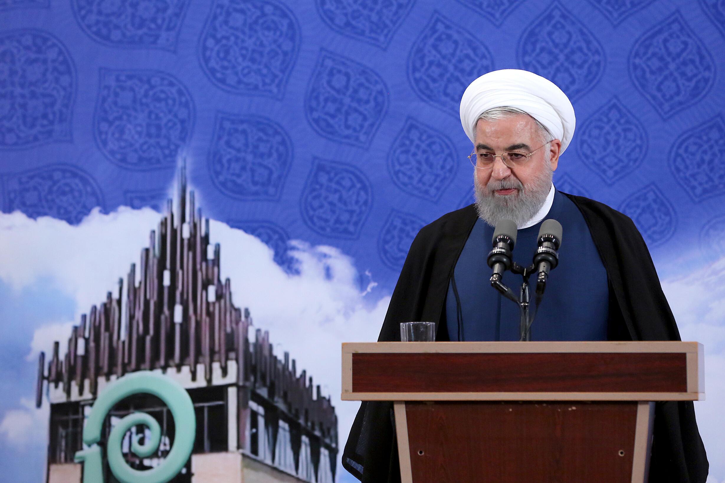 Le président iranien Hassan Rohani à Téhéran, le 5 novembre 2019.