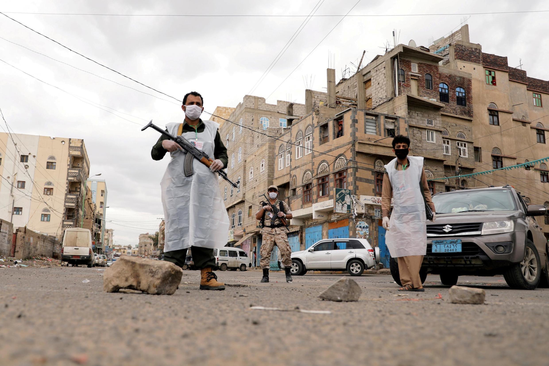 Mojawapo ya mji wa Yemen ulioharibiwa kutokana na vita