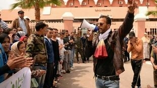 Manifestação contra a homossexualidade no Marrocos