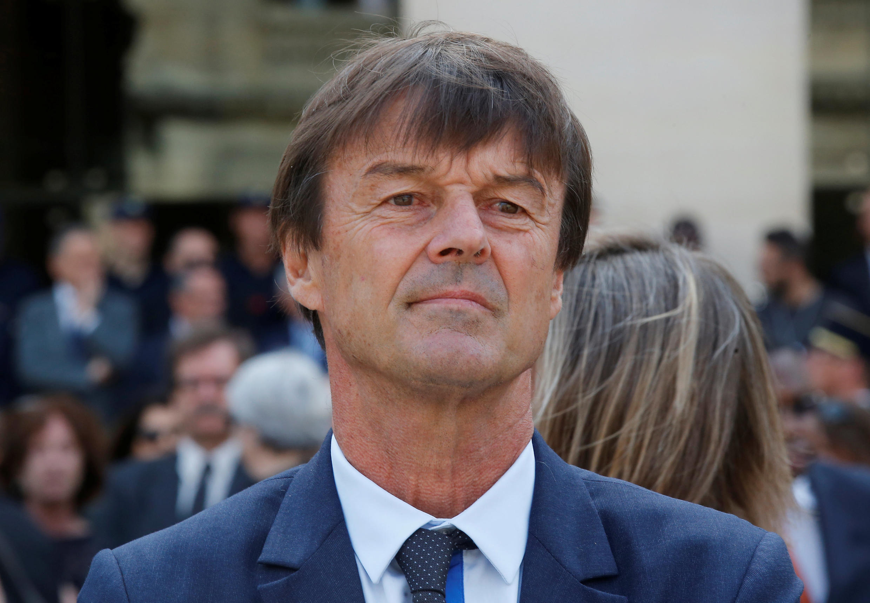 Nicolas Hulot, ecology transition minister