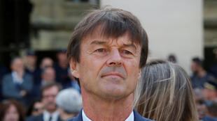 French Environment Minister Nicolas Hulot