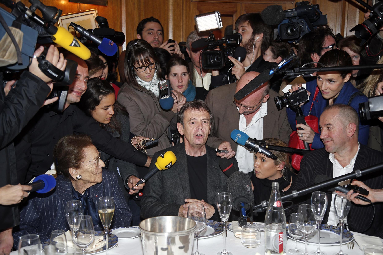 Pierre Lemaitre giải thưởng văn học Goncourt 2013 với « Au revoir là-haut ».