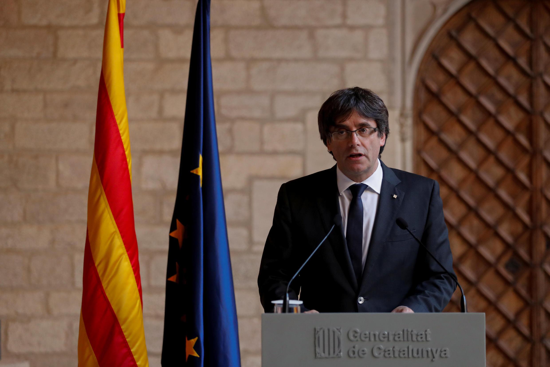 Tsohon shugaban yankin Catalonia Carles Puidgemont