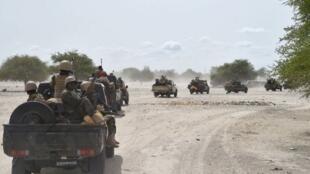 Dakarun Najeriya dake yaki da yan kungiyar Boko Haram