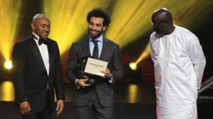 Mohamed Salah Gwarzon Afrika na shekara ta 2018