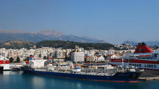 Le port de Patras, en Grèce (photo d'illustration).