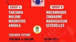 Ratiba ya michuano ya COSAFA 2017