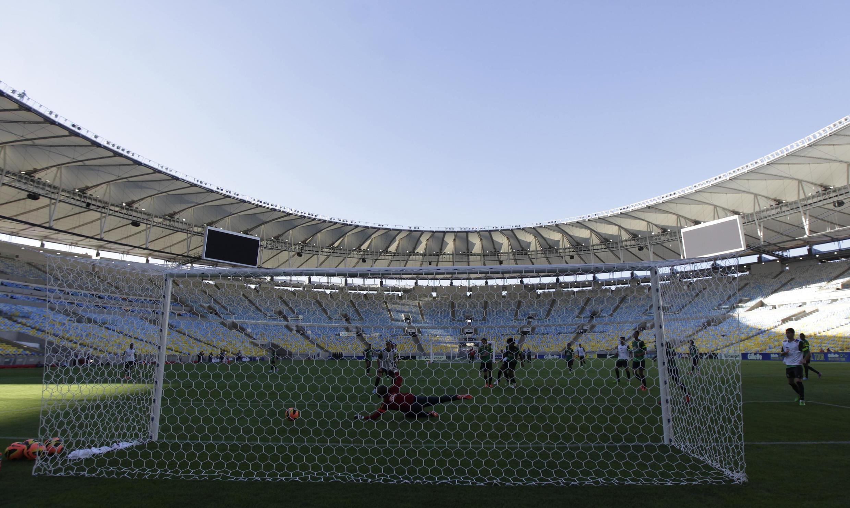 Une vue du stade du Maracana rénové, le 1er juin 2013.