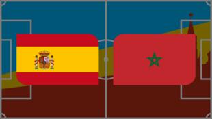 Coupe du monde 2018: Vivez Espagne-Maroc en direct