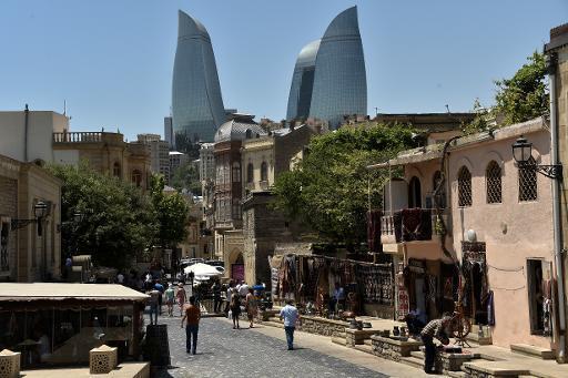 Bakou en Azerbaïdjan