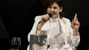 A atriz, produtora e diretora brasileira Bárbara Paz