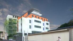 Vue d'ensemble du projet de la maison des Babayagas