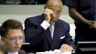 Ex-president of Liberia, Charles Taylor, on trial for war crimes in The Hague