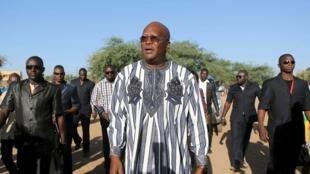 Roch Marc Christian Kaboré, le nouveau président élu du Burkina Faso.